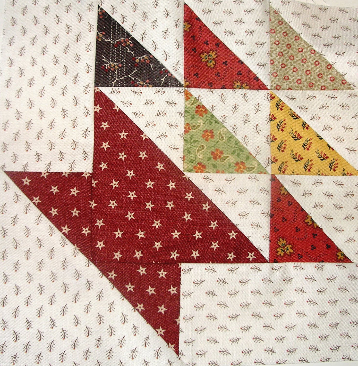 Basket Quilt Square