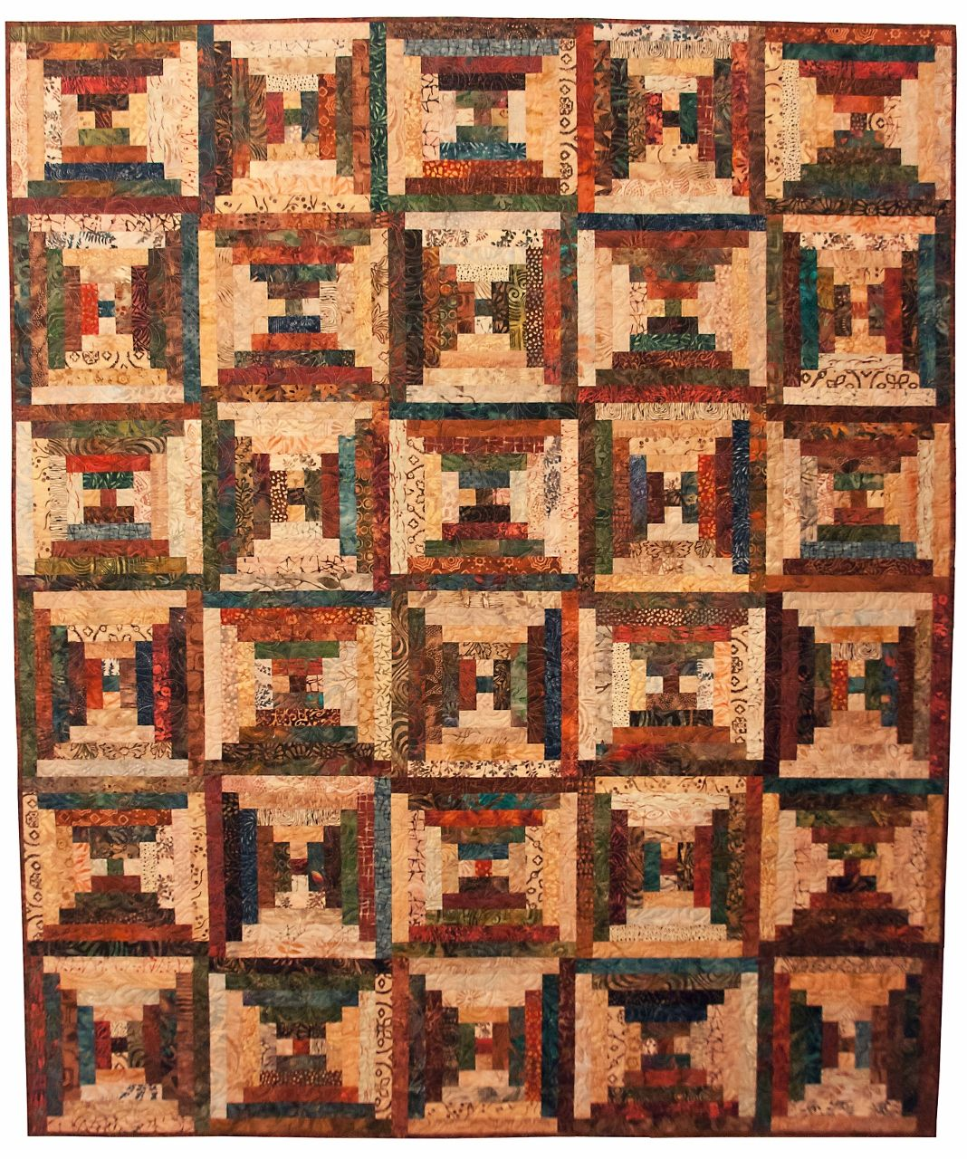 A 19th Century Courthouse Steps Quilt