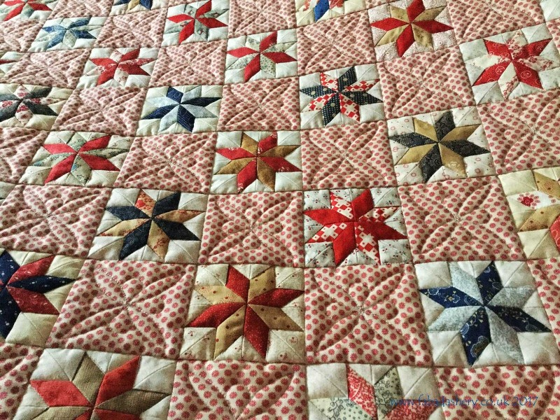 A Traditional Hunter's Star Quilt