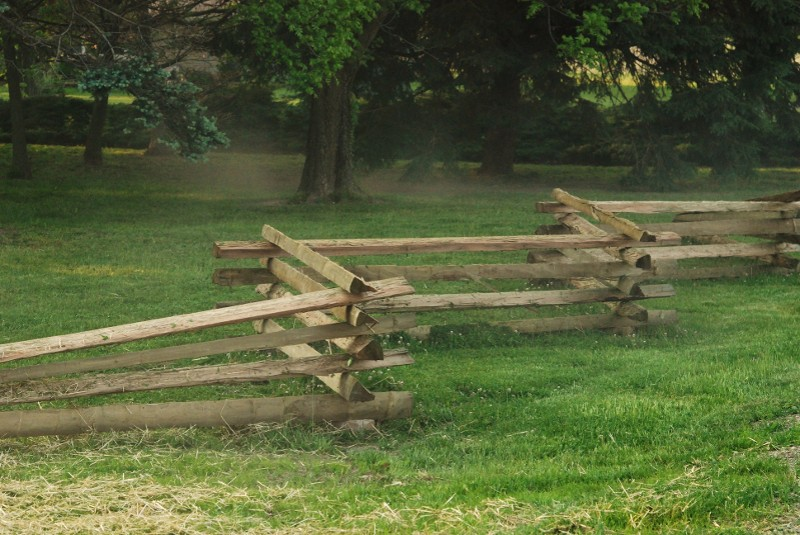 Traditional Split-Rail Fencing
